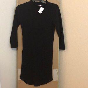 Vivi black mini dress
